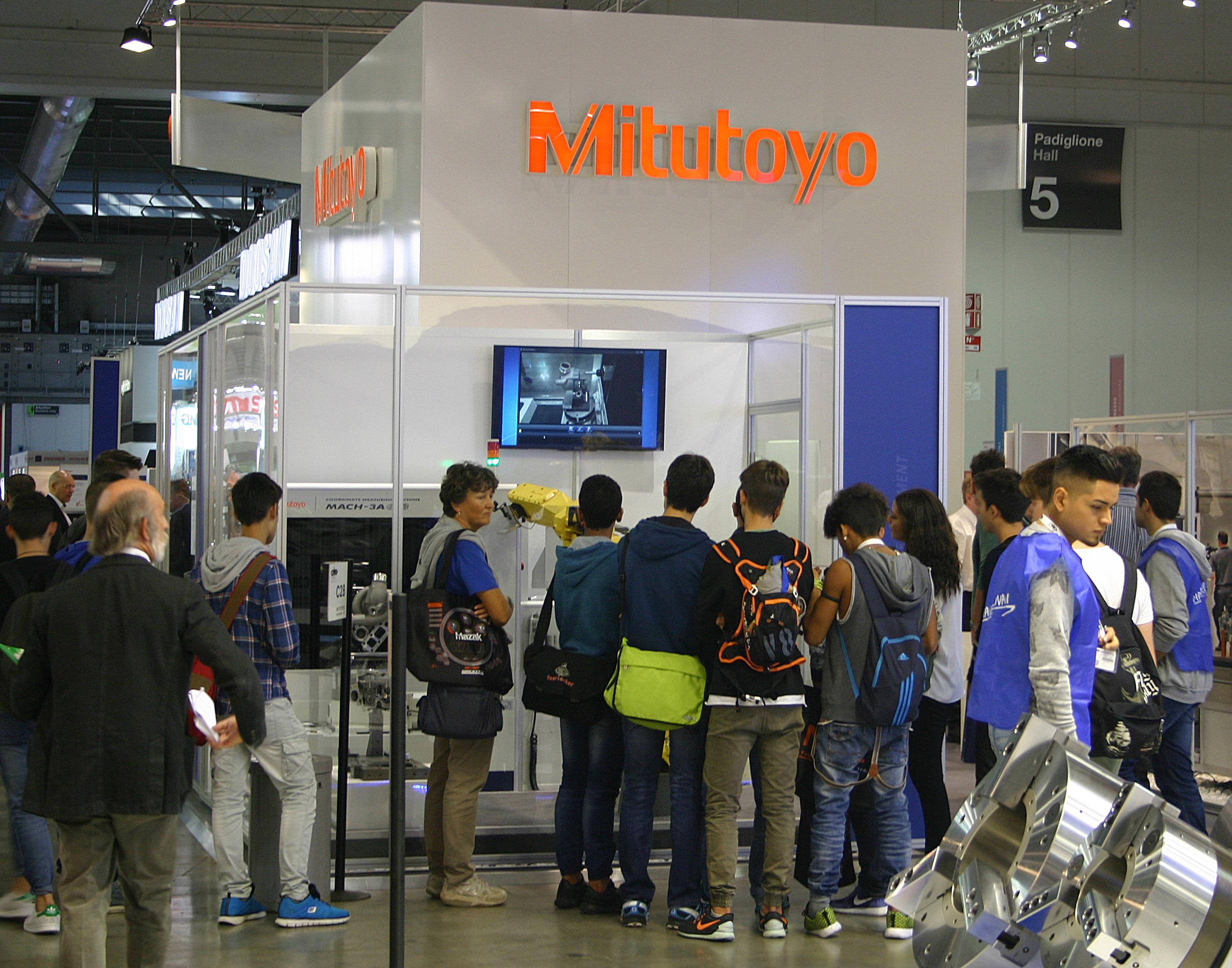 Mitutoyo at EMO 2015